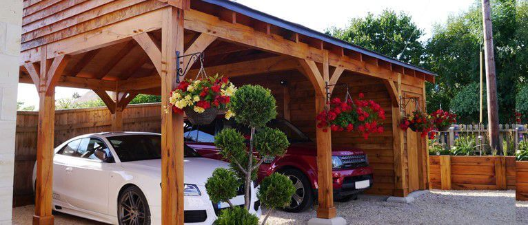 Photo Carport En Bois