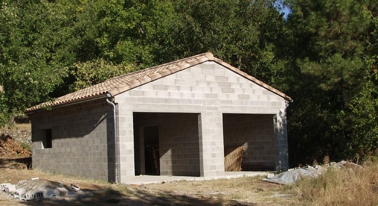 Photos de garages s par s construire garage com - Structure en bois pour garage ...