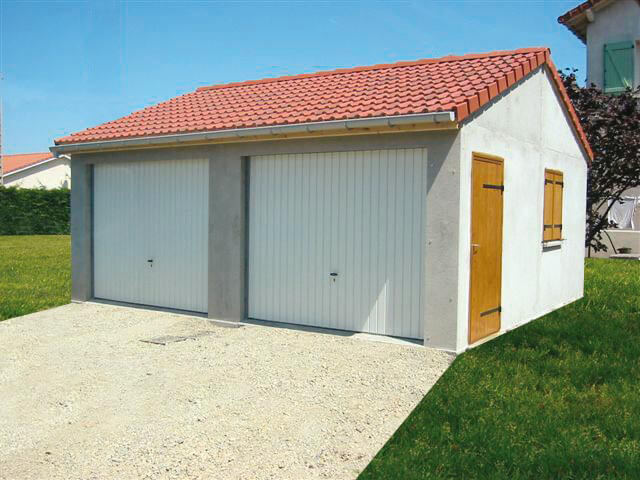 Photos de garages en b ton construire garage com for Tarif construction garage