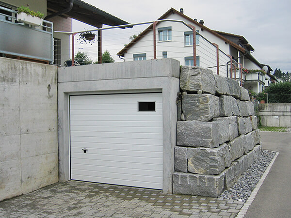 photos de garages semi enterr s construire garage com
