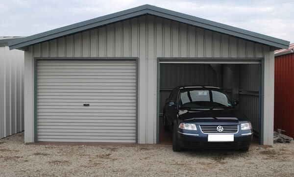 Photos de garages en m tal construire garage com for Construction garage double