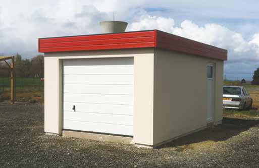 Photos de garages en b ton construire garage com - Garage en plaque de beton ...